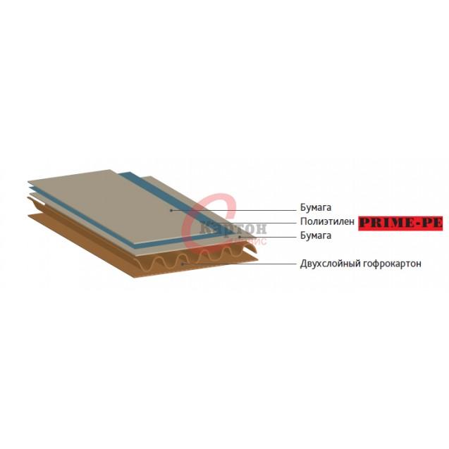 Гофрокартон с барьерными свойствами марки PE