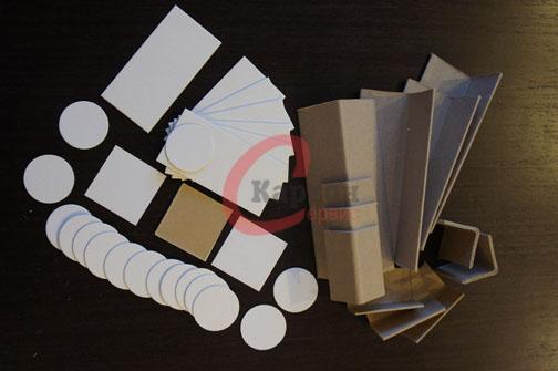 Изготовление картонных защитных уголков